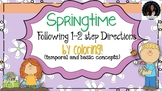 Following 1-2 step Temporal and Basic Concept Directions by Coloring