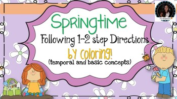 Following 1-2 step Temporal and Basic Concept Directions b