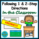 Following 1-step and 2-step directions (Classroom)