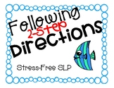 Following 2-Step Directions