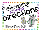 Following 3-Step Directions