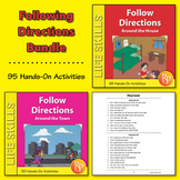 Following Cardinal & Spatial Directions Around the House & Town {Bundle}