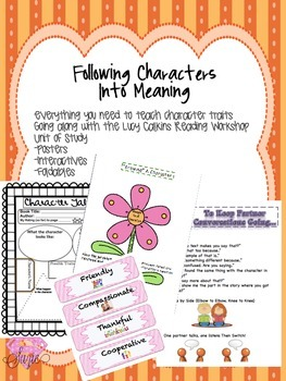 Following Characters Into Meaning Resources