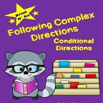 Conditional Directions-Following Complex Directions Advanced