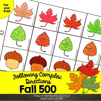 Following Complex Directions ~ FALL 500 ~