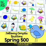 Following Complex Directions ~ SPRING 500 ~