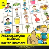 Following Complex Directions ~ SUMMER 500 ~ #SPRINGSAVINGS
