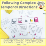 Following Complex Temporal Directions: Leveled
