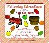Following Direction with Color and Fall Objects
