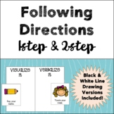 Following Directions - 1 & 2 step directions