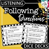 Following Directions Speech Therapy Game