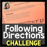 Following Directions | Listening Skills