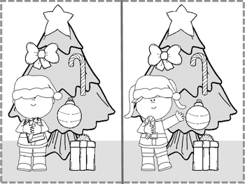 Following Directions: A Holiday Coloring Activity