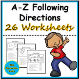 Following Directions A-Z  (Complete Version)