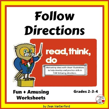 Follow Directions  Practice  FUN  Writing  Drawing  Early Finishers Gr 3-4