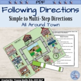 Listening and Following Directions Activity