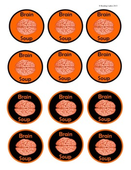 Following Directions Activity: Brain Soup (Halloween Reading Comprehension)