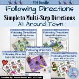 Listening and Following Directions Activity Bundle