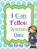 Following Directions Activities {Sneaky FREEBIE}
