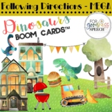 Following Directions Activity with Dinosaurs BOOM Cards™
