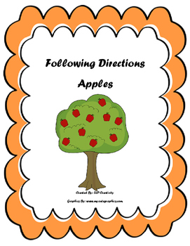 Following Directions Apples
