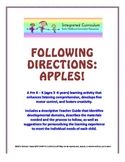 Following Directions: Apples (Pre K - K Listening Comprehension)