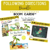 Following Directions GROWING BUNDLE BOOM Cards™ NO print