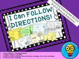 Following Directions - Beginning Readers - ELA