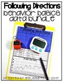 Following Directions- Behavior Basics Data