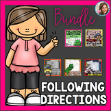 Following Directions Bundle | Speech and Language Games