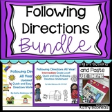 Following Directions Bundle Distance Learning