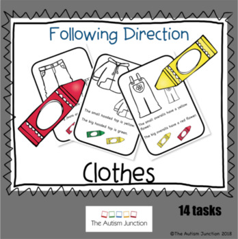 Following Directions - CLOTHES