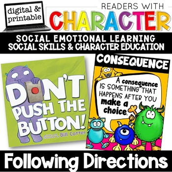Following Directions - Character Education