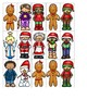 Following Directions: Christmas Character Line-Up