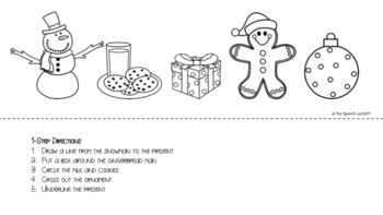 Following Directions - Christmas