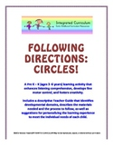 Following Directions: Circles (Pre K - K Listening Comprehension)