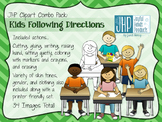 Following Directions Clipart COMBO PACK