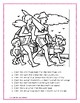 Following Directions Coloring Sheets