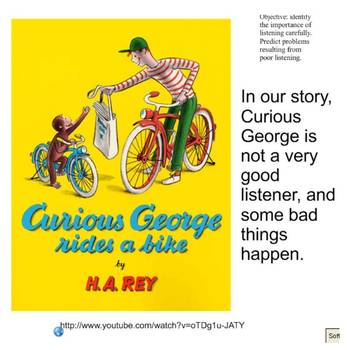 Following Directions Curious George
