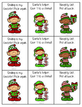 Following Directions Elf Says:  1, 2, and 3-step directions