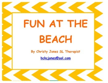 SUMMER- Following Directions- FUN AT THE BEACH!