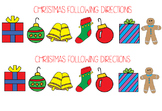 Following Multiple Step Directions - Holiday Edition