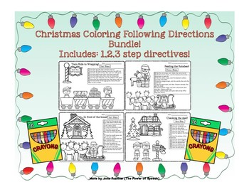 Following Directions Holiday Freebie!