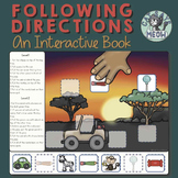 Following Directions Interactive Book 1 & 2 Steps, Temporal, Conditional, etc.