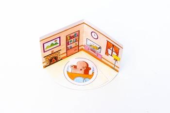 Living Room 3D Pop-up