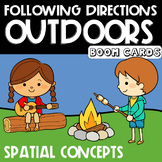 Following Directions Outdoors : Spatial Concepts  | Boom C