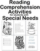 Following Directions Reading Comprehension Strategies Packet