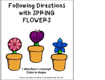 Following Directions SPRING FLOWERS