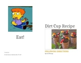 Following Directions & Sequencing - Dirt Cup Picture Recipe