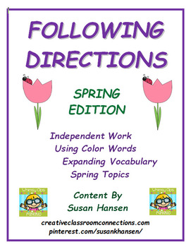 Following Directions: Spring Edition